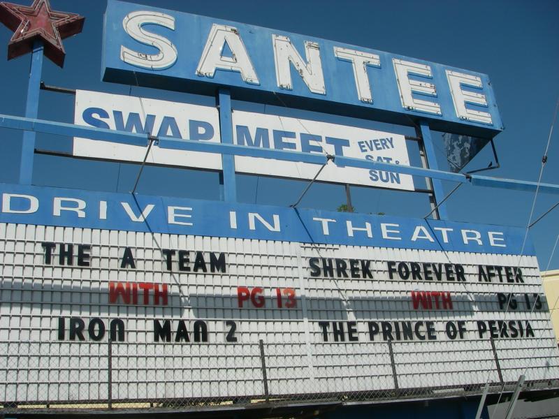 santee drivein theatre