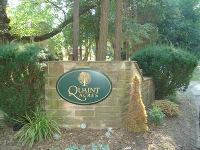 Entrance to Quaint Acres