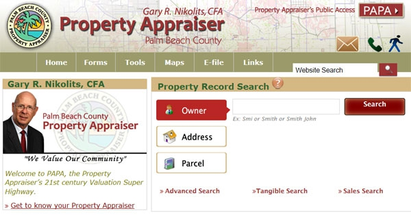 Wahoo new palm beach county property appraiser website is - Palm beach county property appraisers office ...