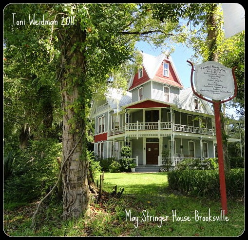 Haunted House-The May Stringer House in Brooksville-FL is a really haunted