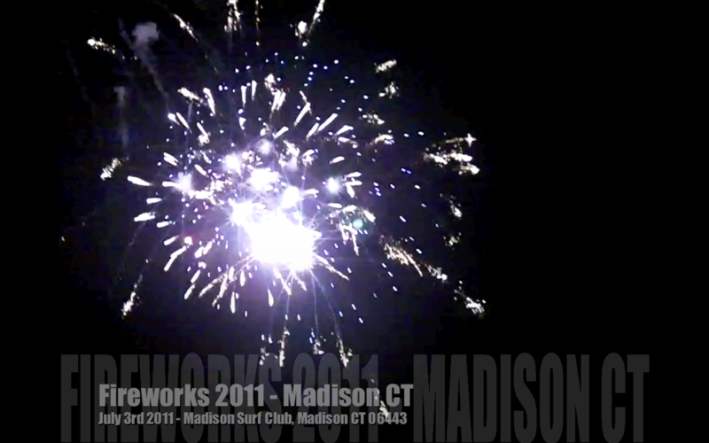 Madison CT Fireworks