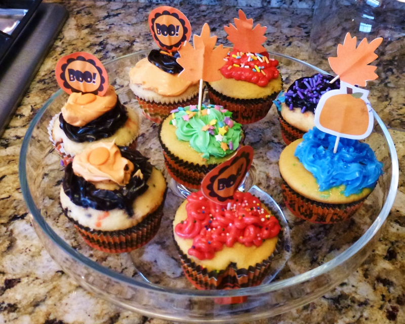 Cupcakes..HomeRome Party