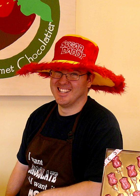 Sean McMillan, owner of Choc-Alot in Tucson