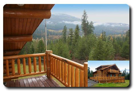 Caribou Creek Log Home