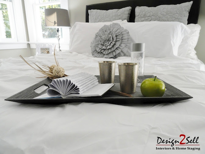 Bedroom accessories tray