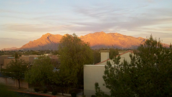 Sunrise in Tucson