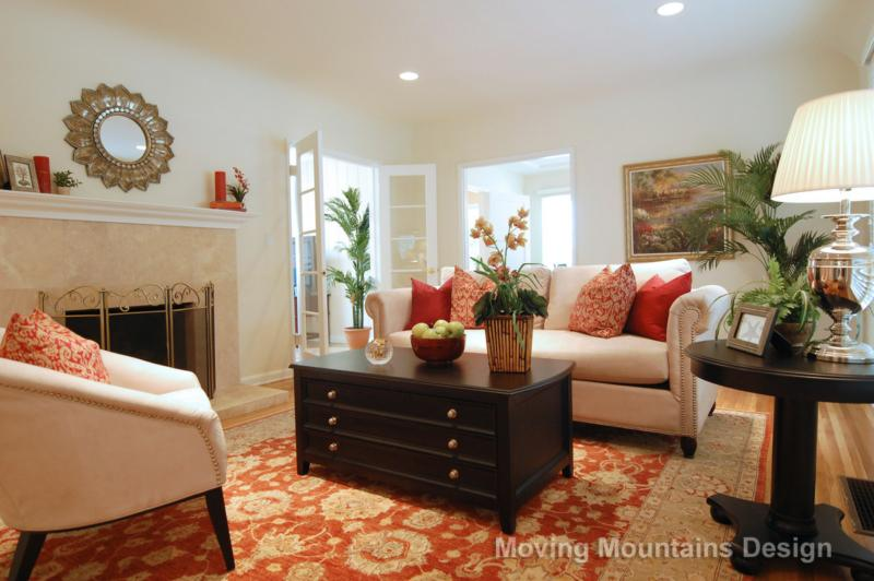 Seeing Red In Home Staging Photos