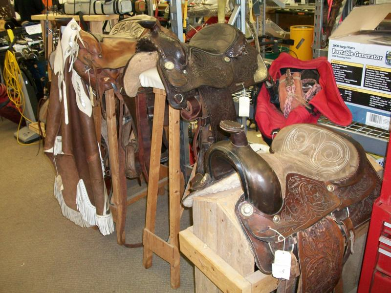 Owasso Pawn Saddles and other treasures
