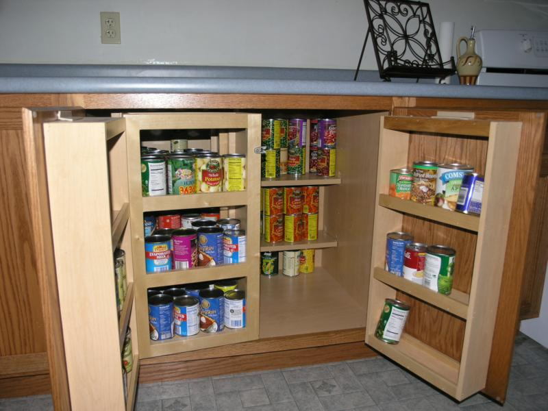 new kitchen pantry