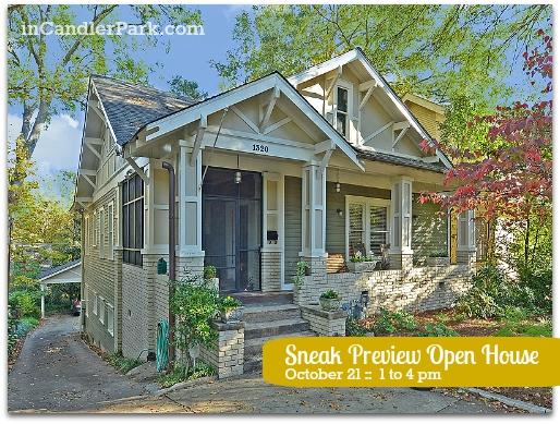 SNEAK PREVIEW Open House Candler Park Atlanta