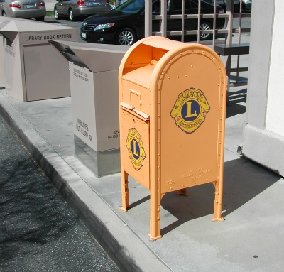 Photo of Upland Host Lions Club Drop Box