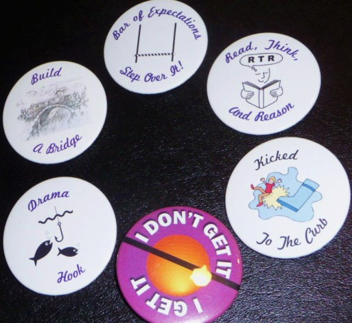 Cosmic cow Pie Buttons HomeRome 410-530-2400