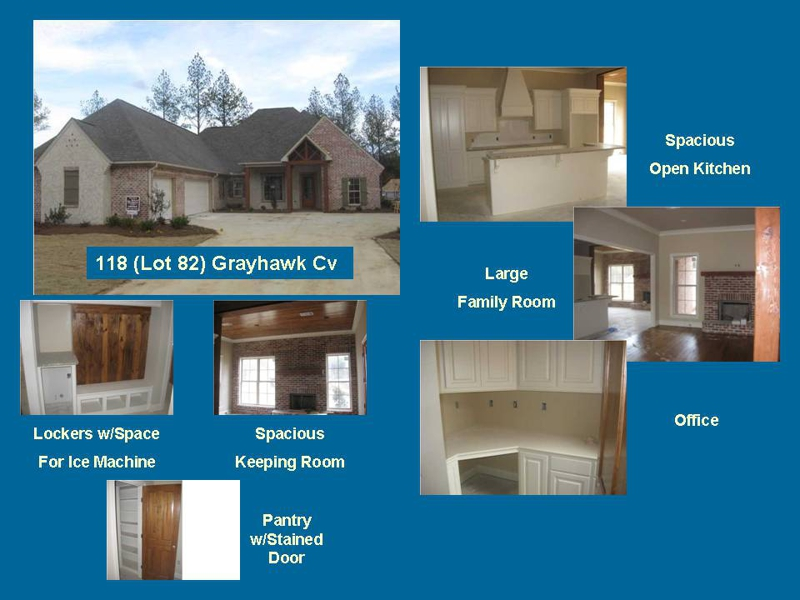 4 3 1 2 New Home For Sale In Madison Ms Grayhawk Subdivision