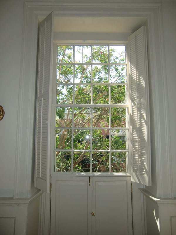 12 over 12 window in Charleston, SC