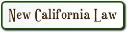new CA laws