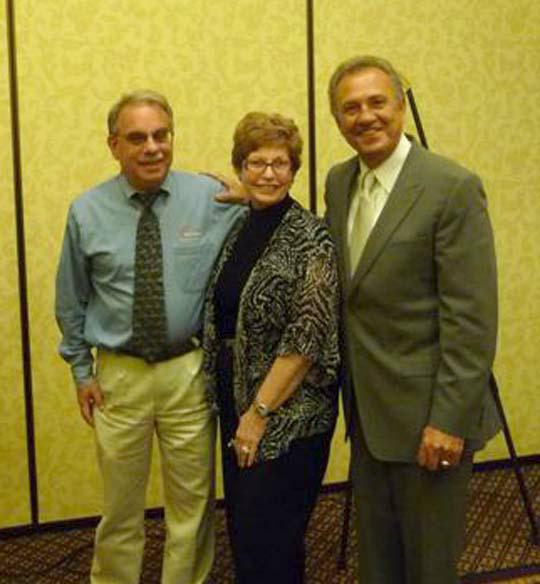 Dean Moss, Margaret Rome, Floyd Wickman