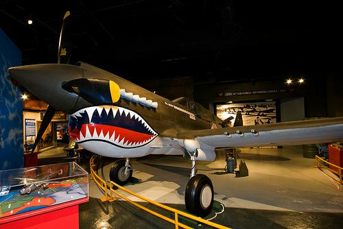 Museum of Aviation, Warner Robins GA - P-40