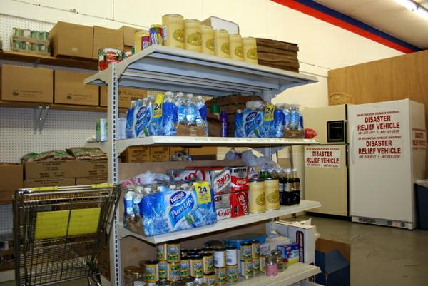 SWMSCOM food pantry