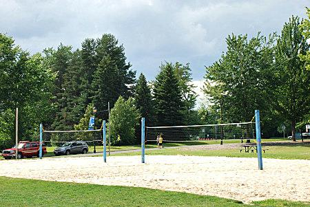 Solon Community ParkVolley Ball Courts