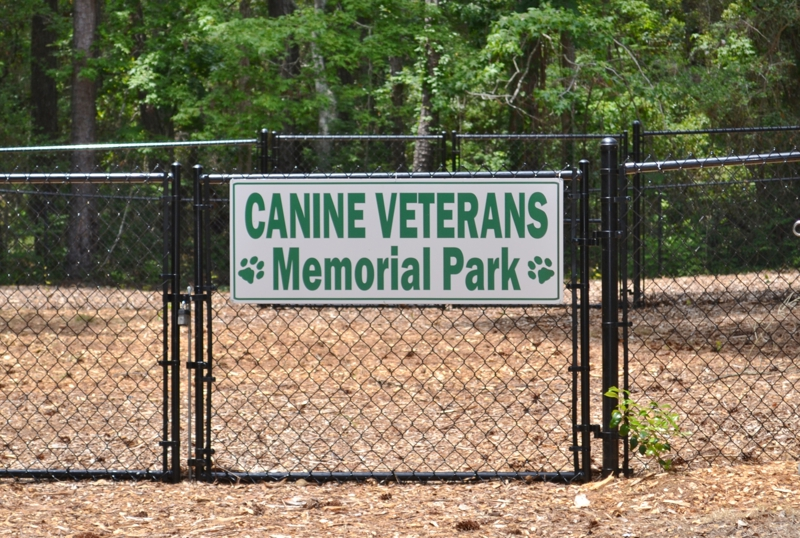 Dog Park in Pine Knoll Shores