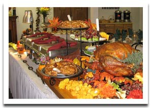 bing search for Thanksgiving Table