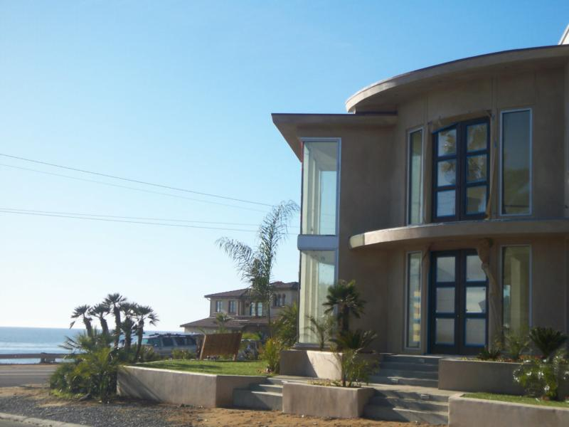 Ocean view new construction home in Carlsbad California