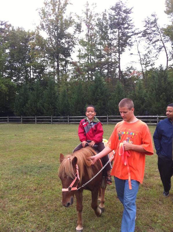 Pony Rides at the Old Maryland Farm