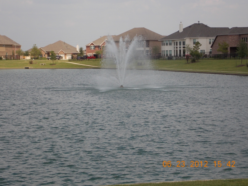 Lake in Cardiff Ranch Katy TX