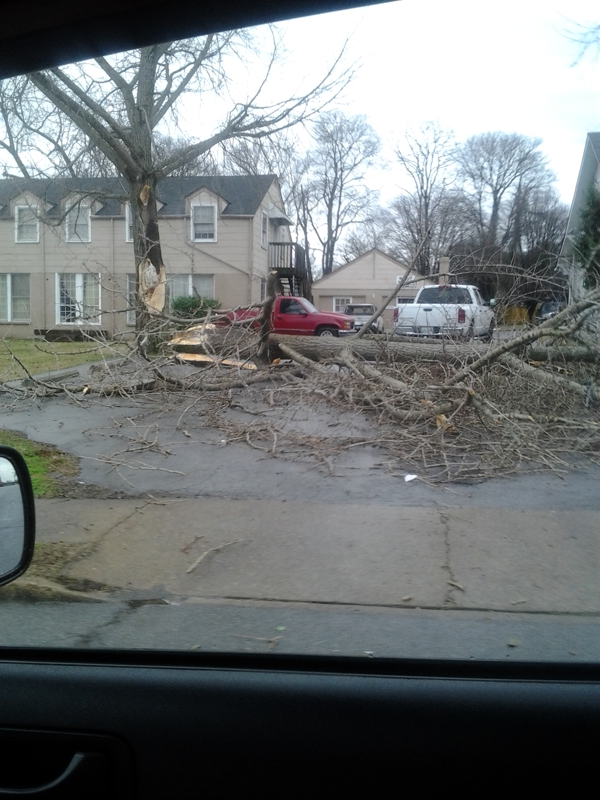 East Nashville storm damage