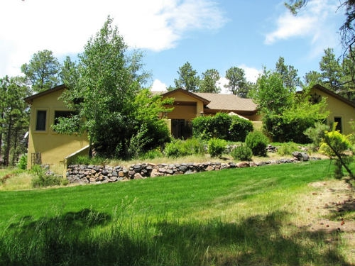 north colorado springs custom home on 3 acres for sale