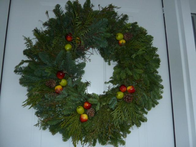 Boy Scouts sell wreaths in Wilton CT 06897