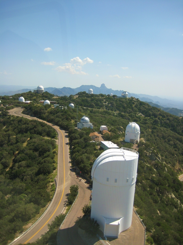 Telescopes at Kitt Peak National Observatory