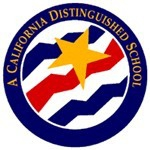 California Distinguished School sign image