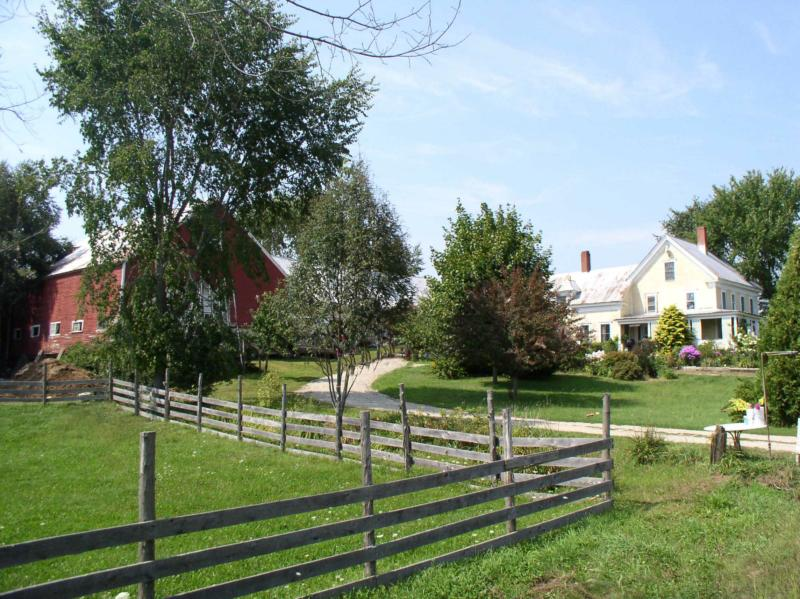 maine waterfront farm for sale