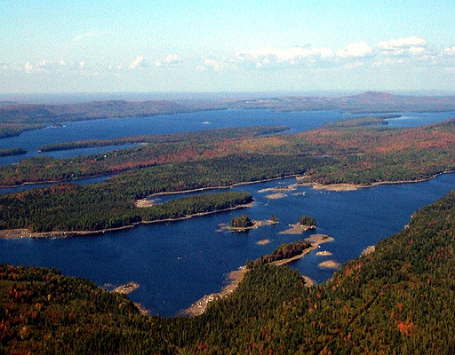 Waterfront property in maine for a vacation second home for Free land maine