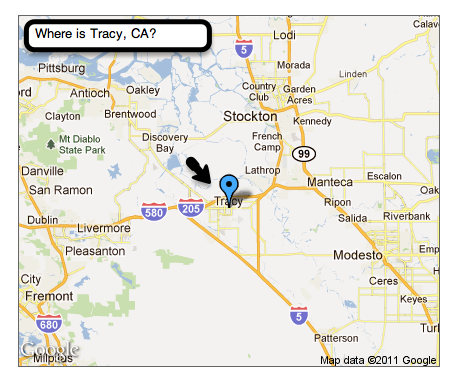 Where is Tracy CA