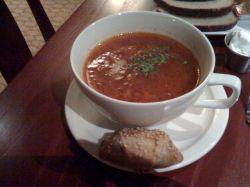 borscht at Hawa Russia in Columbus OH