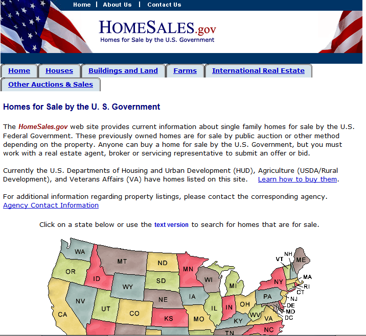 Foreclosures and Government Owned Real Estate - GSA
