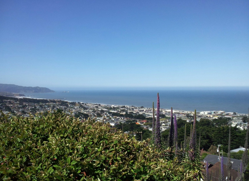 view from Beachview, Pacifica 94044