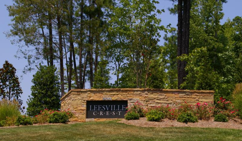 Leesville Crest - Luxury Homes North Raleigh - Available Lots North Raleigh - Custom Homes North Raleigh NC