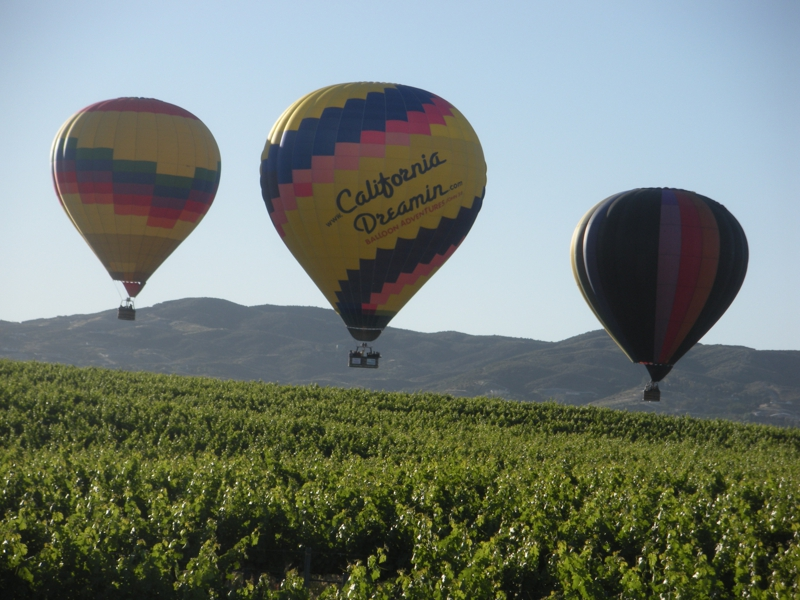 Temecula hot air balloons