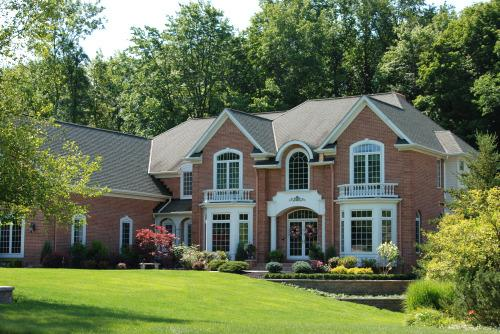 Forest Hills of Solon luxury homes on land