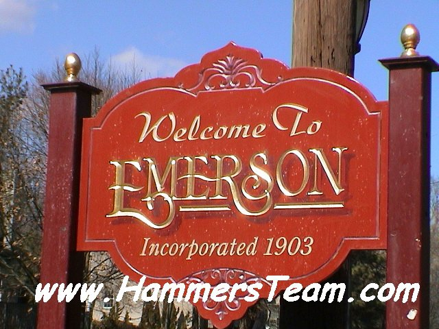 Emerson, NJ Welcome Photo