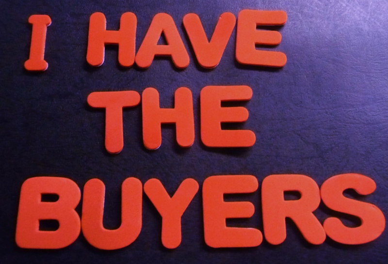 I Have The Buyers -HomeRome 410-530-2400