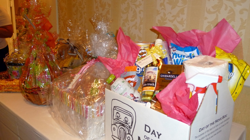 Recently assembled a basket for our wcr spring basket auction the