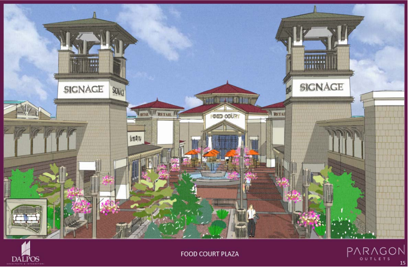 Livermore Valley Paragon Outlet Mall