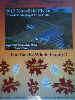 Mansfield 1B9 Fly In Brochure