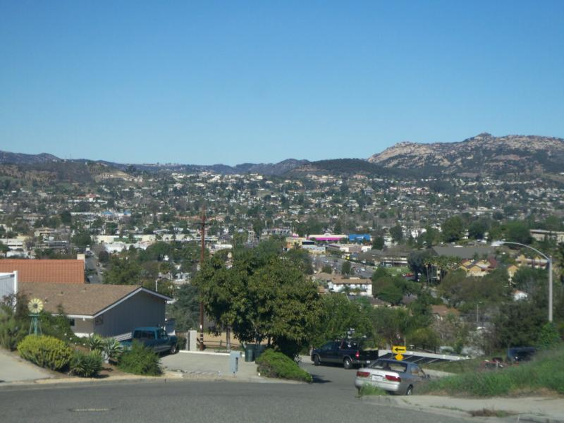 Looking down on the downtown area of Escondido - Jeff Dowler