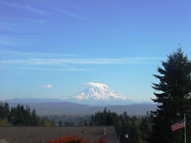 Mt Rainier View Home