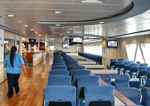 inside the Hawaii Superferry